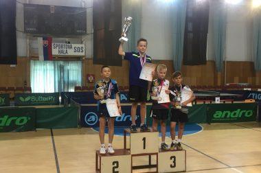 3 Medaile z MSR NMŽ Pezinok